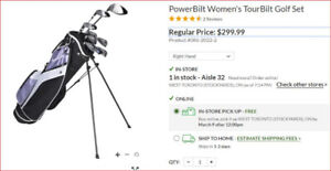 Women's Golf Clubs (RH) - New, Never Used.