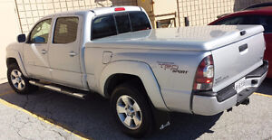 Silver 6' Hard Bed Cover For Toyota Tacoma