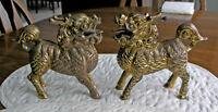 Qilin Foo Dragon Dogs (Bronze Gilt)