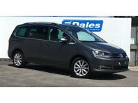 2017 Volkswagen Sharan 2.0 TDI CR BlueMotion Tech 150 SEL 5dr DSG 5 door MPV