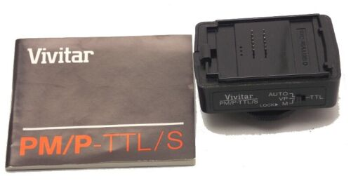 Vivitar Dedicated Processor Module For Pentax Standard PM/P-TTL/S Japan Used
