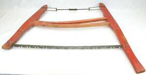 Wood Framed Buck Saw dates to 1940's