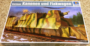Trumpeter 1/35 Kanonen and Flakwagen