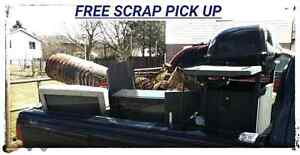 Free scrap pick up and much more then others will do!
