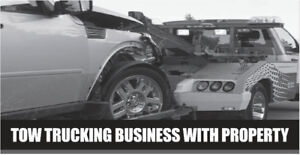 TOW TRUCKING BUSINESS WITH PROPERTY