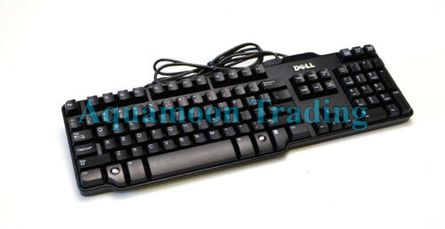 Mw437 Genuine Dell Corporate Spacesaver Usb Wired Keyboar...