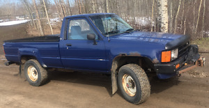 1985 Toyota 4x4 Pickup Truck, Deluxe Trim, Great Condition
