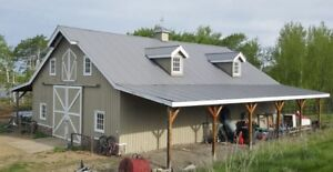NEW METAL ROOFING AND SIDING