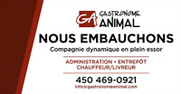 Emploi displonible - Gastronome Animal