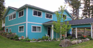 beautiful house and land by creston bc