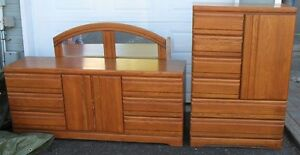 PRICED FOR QUICK SALE! Oak Bedroom Set