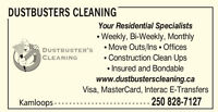~PART TIME cleaner required ~