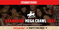 Part Time Stampede Club Crawl Position