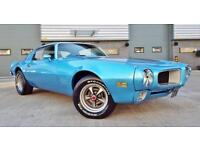 1971 Pontiac Firebird 4.2 Bullnose Manual Classic Muscle Car Looks Fantastic!