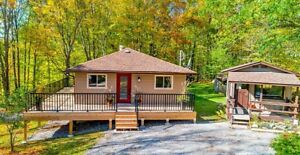 Stunning House on 1+ Acre beside Sandy Beach, Cottage Country