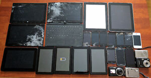 Repair Lot of electronics - iPads, Surfaces, iPhones, Kindles ++