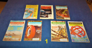 64 Mechanix Illustrated Mags. Sets #1 - #8 / 1964 - 1977