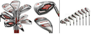COBRA BAFFLER GOLF CLUB SET WITH  7-P AND W WITH 6,5,4 HYBRIDS