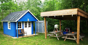 B&B - Cozy and Private Storybook Cabins with sleeping loft