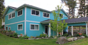 beautiful property and house in Creston BC