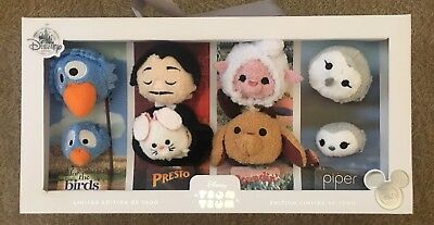 D23 Expo 2017 Exclusive Disney Store Tsum Tsum Pixar Shorts Box Set LE 1000