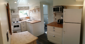 Fully Furnished 2 Bedroom Suite in Heritage House in Cadboro Bay