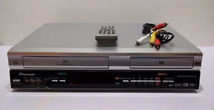 Pioneer DVD/VCR 2-Way Recording w/Remote & Cable, Mint!
