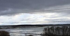 Terrain à Vendre - Pointe-des-Cascades - vue sur le fleuve