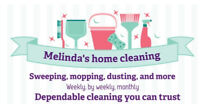 Melinda's home cleaning