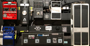 Pedalboard and Various Pedals/Power Supply for Sale