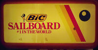 BIC SAILBOARD LIGHTED SIGN 24'' X 12'' GOOD COND. $10.00