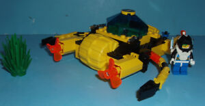 LEGO AQUAZONE no 6145, le CRYSTAL CRAWLER