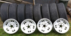 Ford Ranger Alloy rims 235/75R15 tires