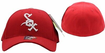 Chicago White Sox 1971-75 Cooperstown Collection Retro Fitted Cap - 2317-2324 Chicago White Sox Cooperstown Wool