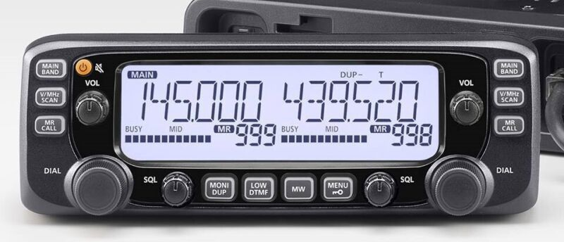 New Icom IC-2730A  Dual Band 50 Watt 144/440 MHz Mobile  $20 Mail in Rebate