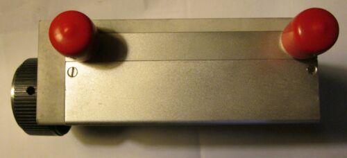 Alan Step Attenuator N connectors 50CV100-849 ,  10 steps 0-60 dB 0-400 GHz