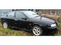 Alfa Romeo 156 for sale. Parts or repair, may consider breaking.