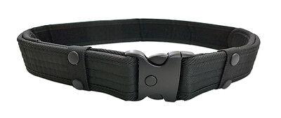 Police Utility Belts (Black Adjustable Survival Tactical EMT Security Police Duty Utility)