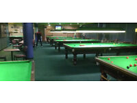 Quick sale needed 10 Full size Snooker Tables 12ft x 6ft plus 1 pool table
