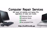 PC/Laptop/iPhone/iPad Repair Service - PC & Kodi Expert (Mobile Support)
