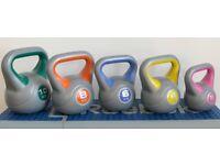 Set of 5 Kettlebells