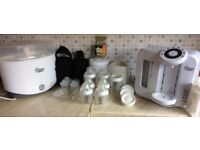 Tommee Tippee Perfect Prep Machine, Steriliser and Bottle Warmer - RRP: £154.97