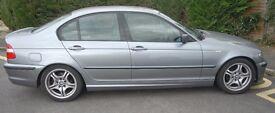 BMW 316i SPORT - REG BF04 GGP - REG DATE 25.03.04 - 4 DOOR SALOON - PETROL - 1796cc - GREY