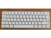 Vortex Pok3r Mechanical Keyboard - White