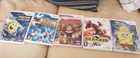 Wii games x5