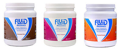 Fluid Recovery, Post-Workout Drink Mix, Isolate Protein, L-G