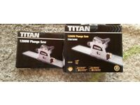 TITAN PLUNGE SAW 1200w BRAND NEW