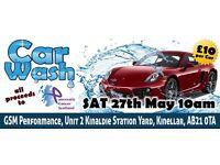 Charity Carwash / Car Meet for Pancreatic Cancer Scotland