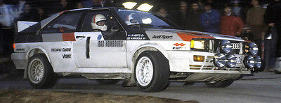 Audi Quattro A2 Homologation - Rallye / Racing / Motorsport - Gruppe B
