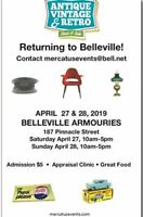 Antique,Vintage& Retro Show,Belleville Armouries, April 27-28